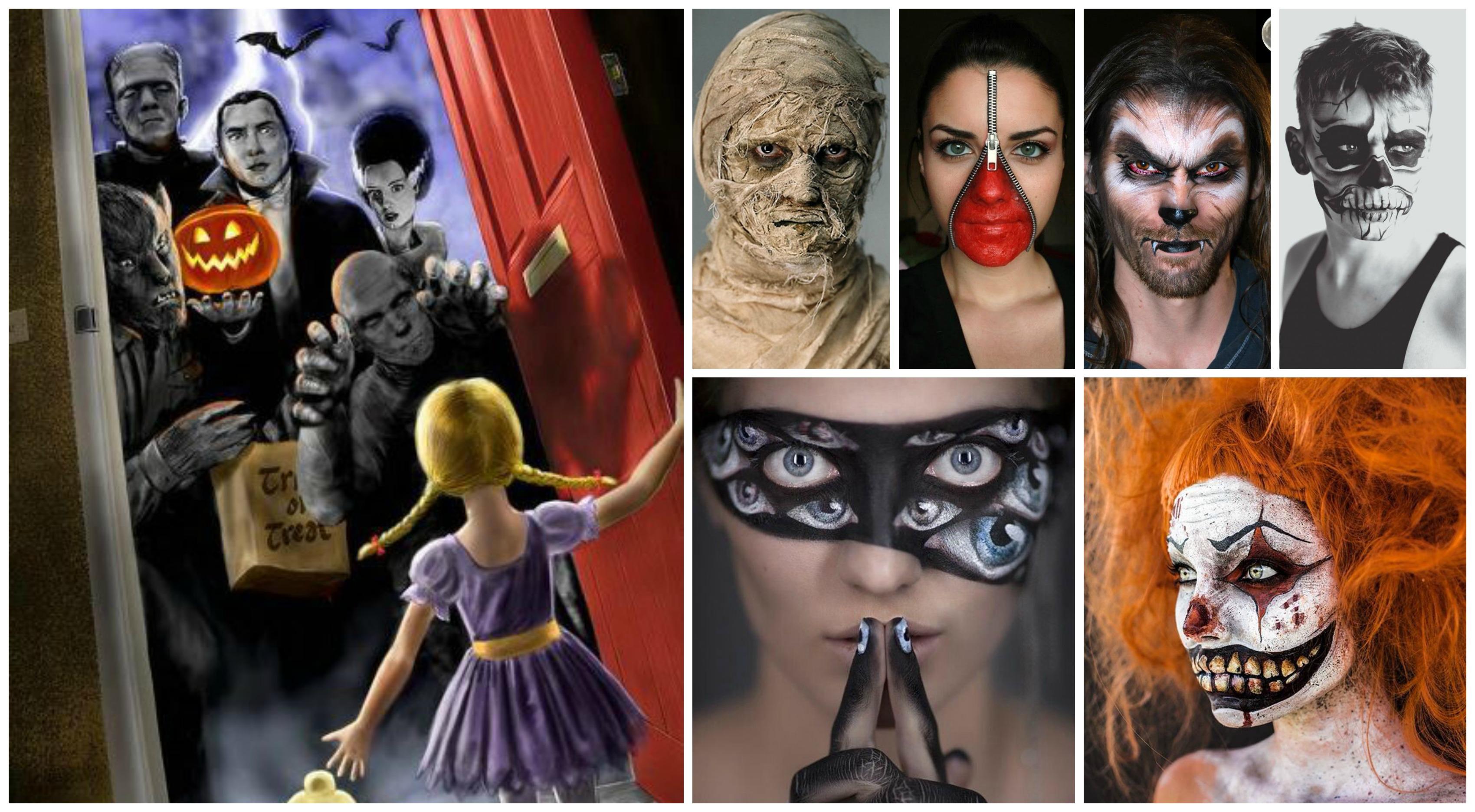 10 trucchi di Halloween fai da te