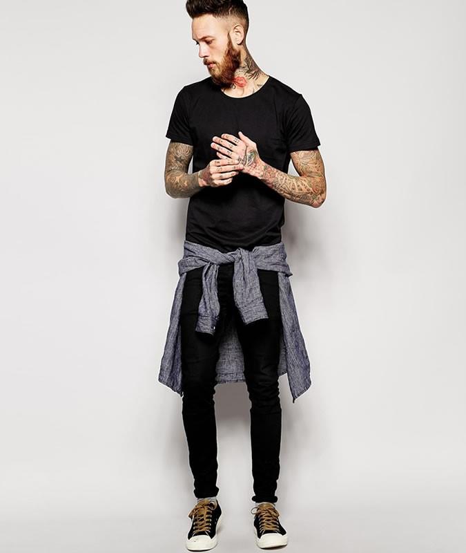 Abbigliamento nero