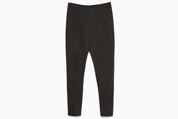 Pantaloni neri Zara