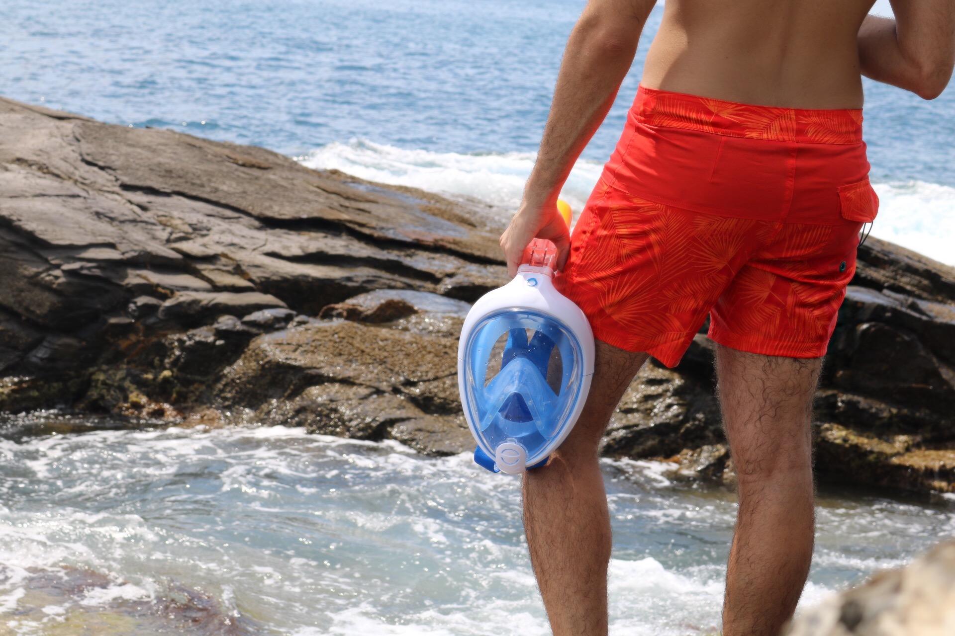 Snorkeling da film con la nuova maschera Easybreath