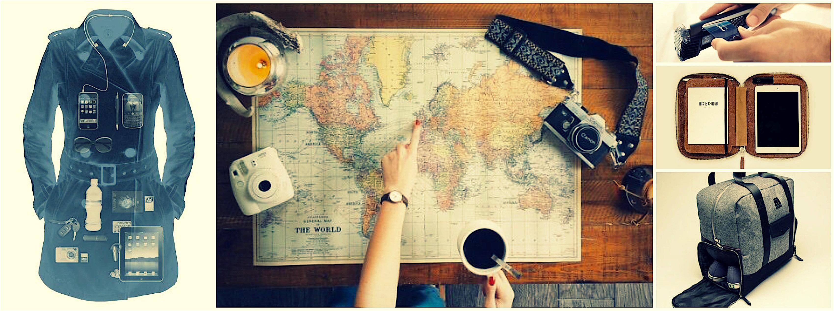 Cosa portare in viaggio, idee e consigli